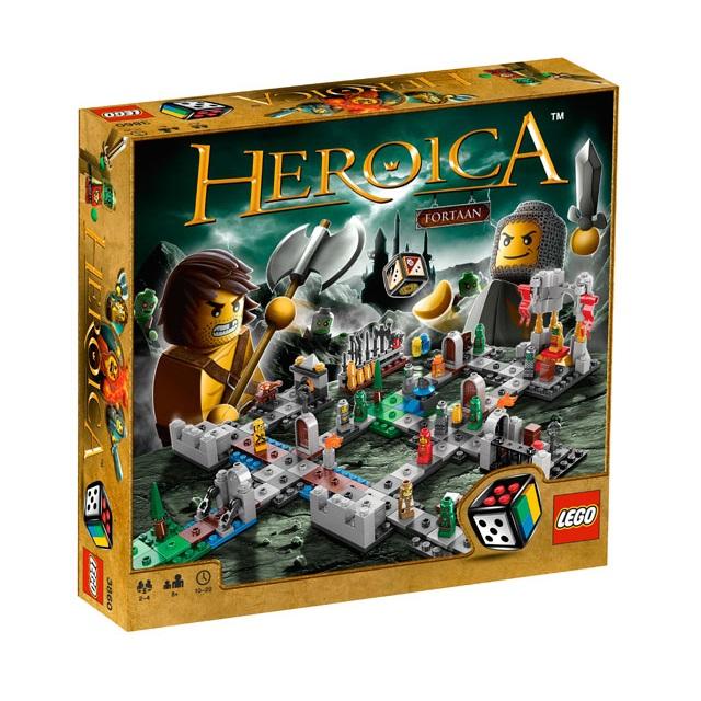 LEGO Games 3860 Heroica: Castle Fortaan