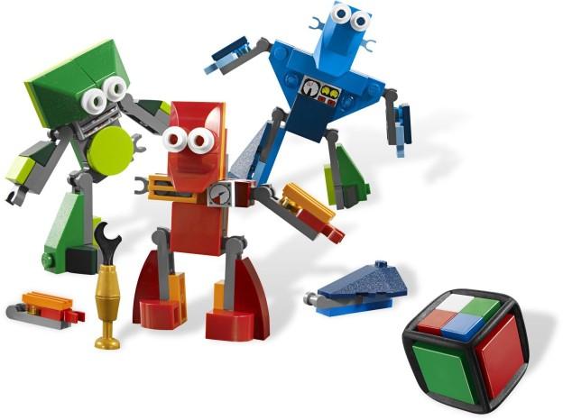 LEGO Games 3835 Robot šampión sestaveno