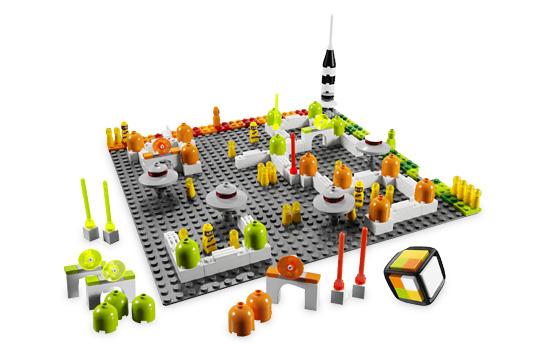 LEGO Games 3842 Vesmírná stanice sestaveno