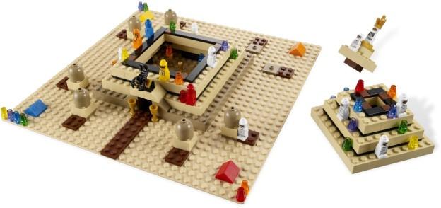 LEGO Games 3843 Ramsesova pyramida rozehráno