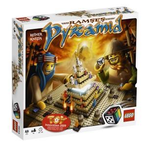 LEGO hra Ramsesova pyramida