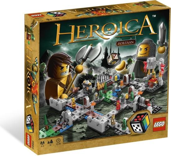 LEGO Games Heroica Hrad Fortaan