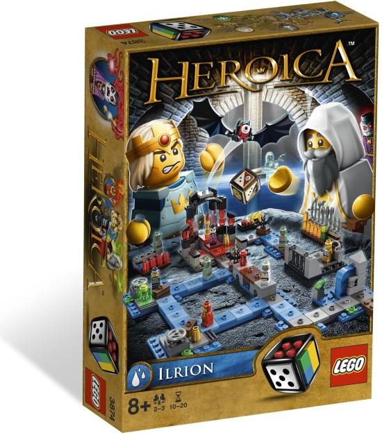 LEGO Games Heroica Katakomby Ilrion