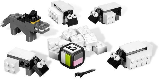 LEGO Games 3845 Ostříhej ovci rozehráno