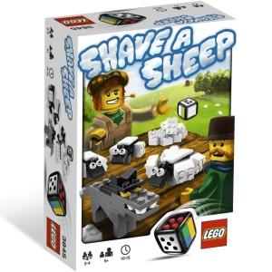 LEGO hra Ostříhej ovci