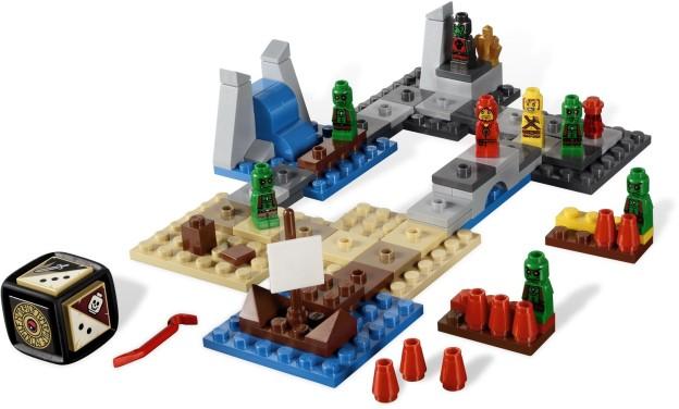 LEGO Games 3857 Heroica Zátoka Draida rozehráno